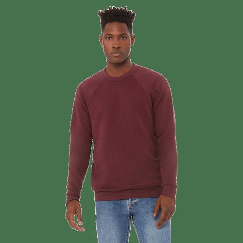Bella + Canvas Unisex Sponge Fleece Crewneck Sweatshirt - 10+ Colors Available 2