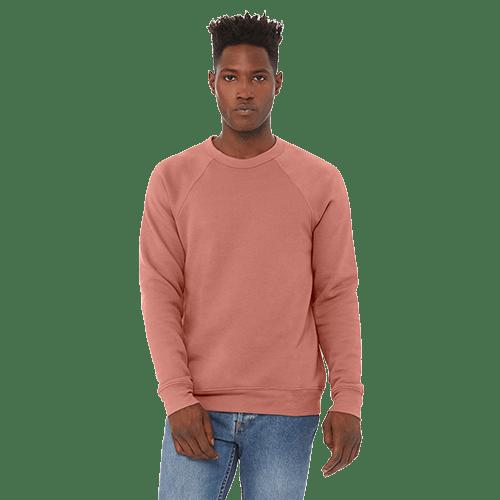 Bella + Canvas Unisex Sponge Fleece Crewneck Sweatshirt - 10+ Colors Available 10