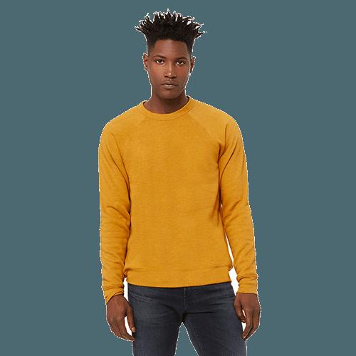 Bella + Canvas Unisex Sponge Fleece Crewneck Sweatshirt - 10+ Colors Available 1