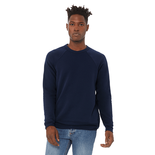 Bella + Canvas Unisex Sponge Fleece Crewneck Sweatshirt - 10+ Colors Available 3