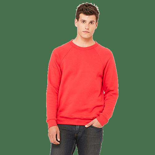 Bella + Canvas Unisex Sponge Fleece Crewneck Sweatshirt - 10+ Colors Available 5