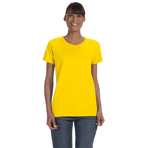 Gildan Ladies Heavy Cotton T-Shirt - Over 20 Colors 6