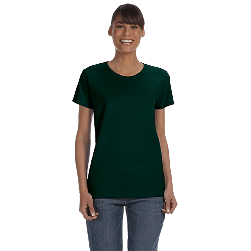 Gildan Ladies Heavy Cotton T-Shirt - Over 20 Colors 3