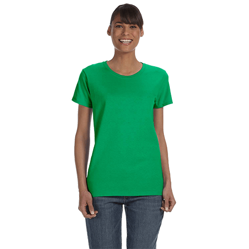 Gildan Ladies Heavy Cotton T-Shirt - Over 20 Colors 2