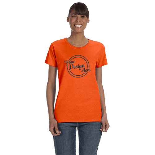 Gildan Ladies Heavy Cotton T-Shirt - Over 20 Colors 1