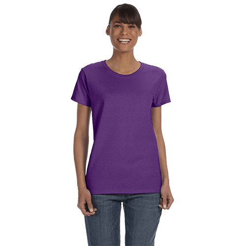 Gildan Ladies Heavy Cotton T-Shirt - Over 20 Colors 12