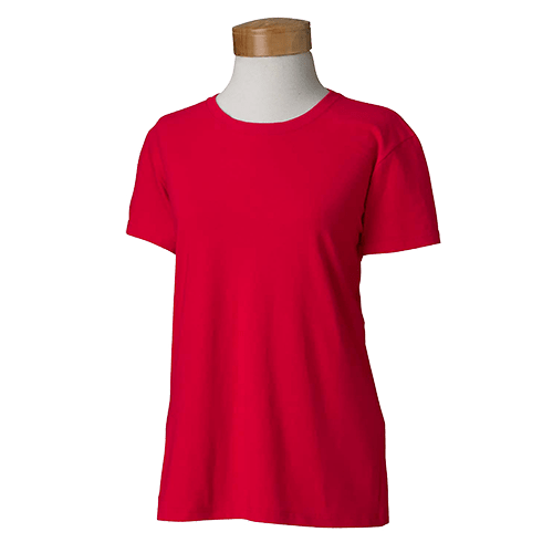 Gildan Ladies Heavy Cotton T-Shirt - Over 20 Colors 14