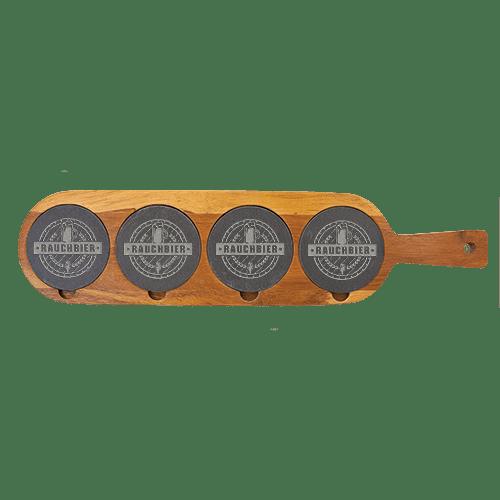 Acacia Wood & Slate Serving Board