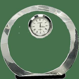 Round Crystal Clock 2