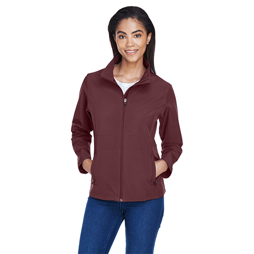 Ladies Soft Shell Jacket - 8 Colors 4