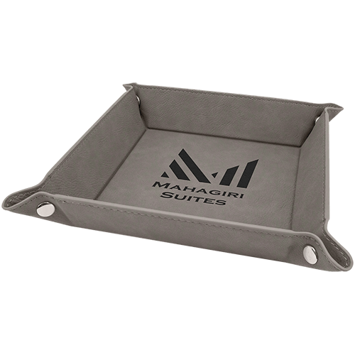 Leatherette Snap Up Tray - 5 Colors 4