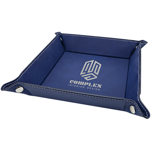 Leatherette Snap Up Tray - 5 Colors 3