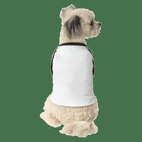 3/4-Sleeve Raglan Dog T-Shirt 1