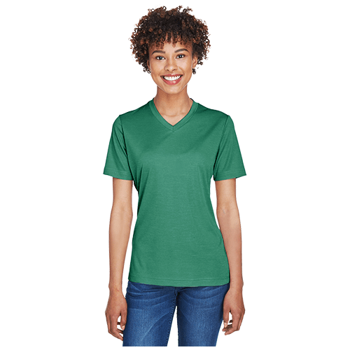 Team 365 Ladies' Sonic Heather Performance T-Shirt 3