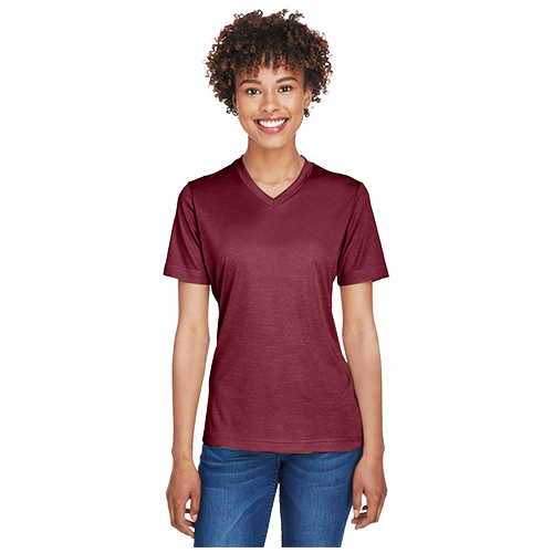 Team 365 Ladies' Sonic Heather Performance T-Shirt 5