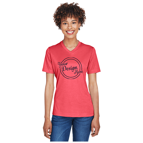 Team 365 Ladies' Sonic Heather Performance T-Shirt 1