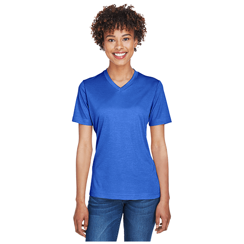 Team 365 Ladies' Sonic Heather Performance T-Shirt 2