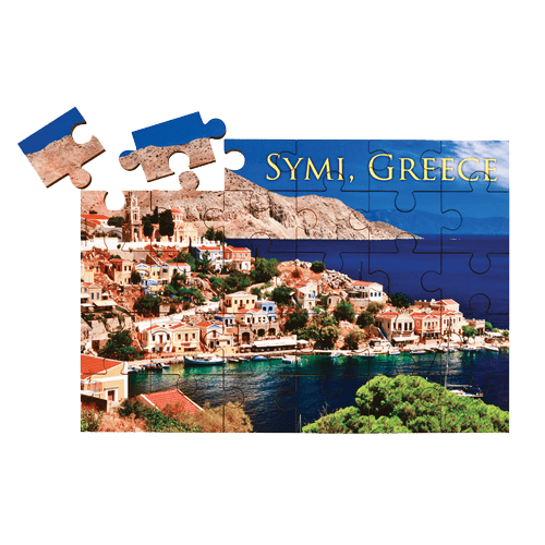 Personalized Full Color Rectangle Puzzle - 2 Sizes 1
