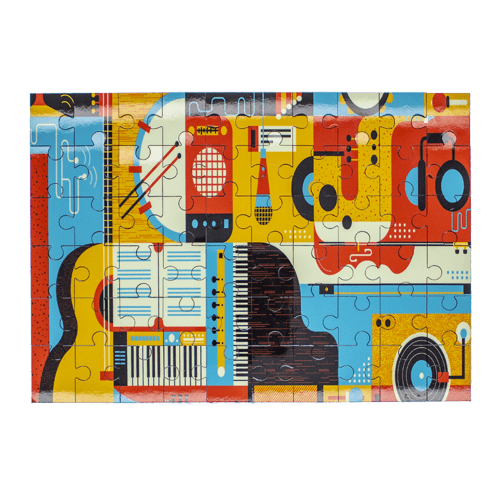 Personalized Full Color Rectangle Puzzle - 2 Sizes 2