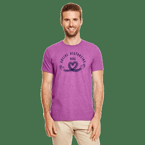 Social Distancing Hug Charity Shirt 2