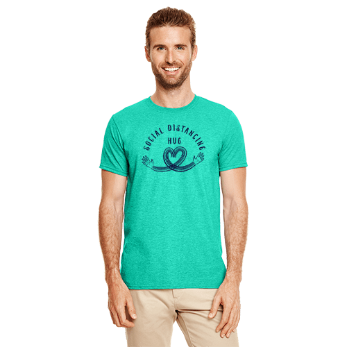 Social Distancing Hug Charity Shirt 1