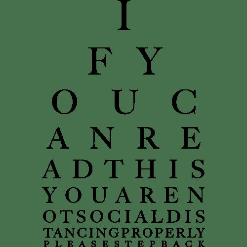 Eye Test Charity Shirt 2