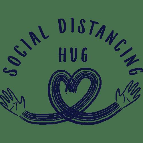 Social Distancing Hug Charity Shirt 3