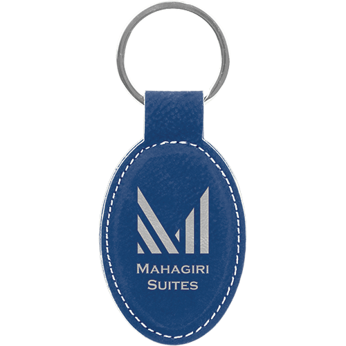 Personalized Oval Keychain - 15 Colors 12