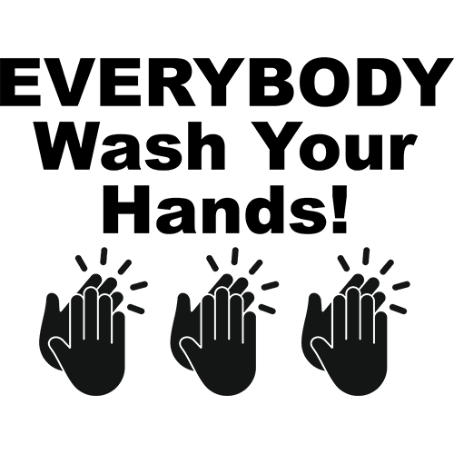 Wash Your Hands Charity Shirt 2