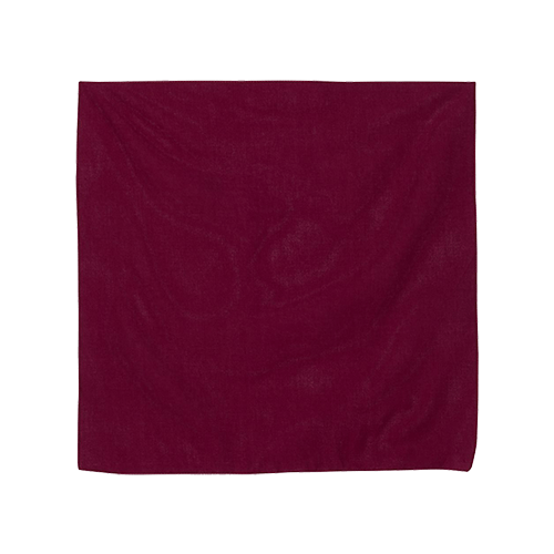Personalized Cotton Bandana - 13 Colors 8
