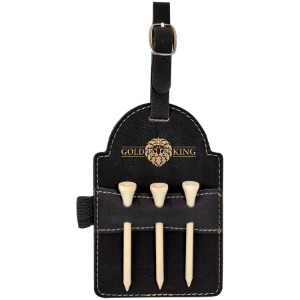 Leatherette Golf Bag Tag - 6 Colors 4