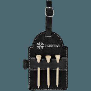 Leatherette Golf Bag Tag - 6 Colors 6