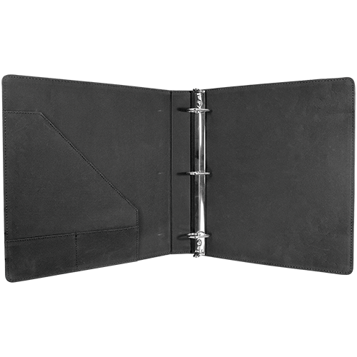 Personalized Leatherette Binder - 6 Colors 2