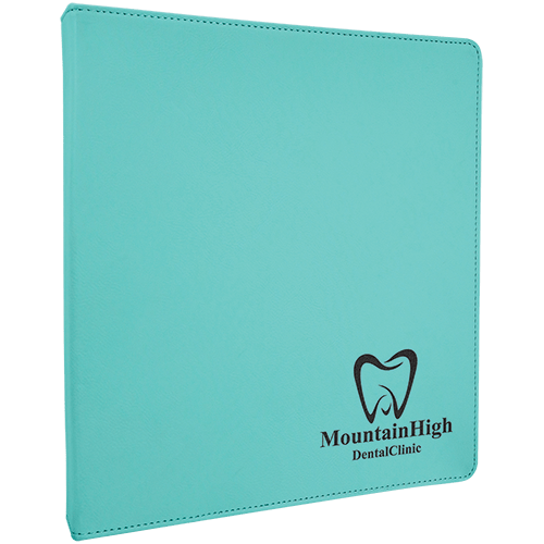 Personalized Leatherette Binder - 6 Colors 1