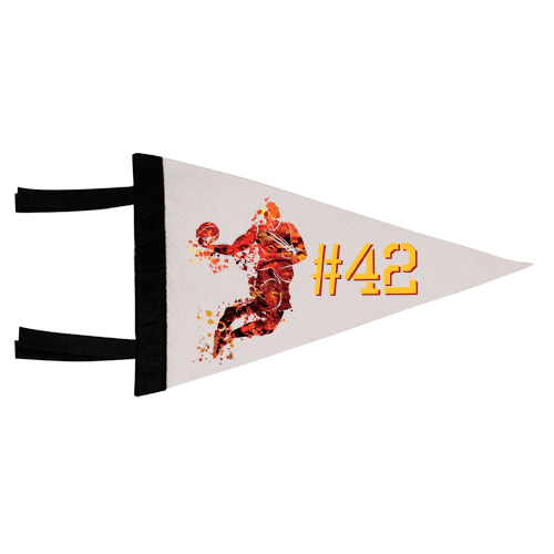 Full Color Pennant Flag 1