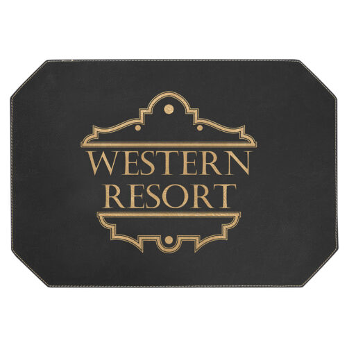 Leatherette Placemat 3