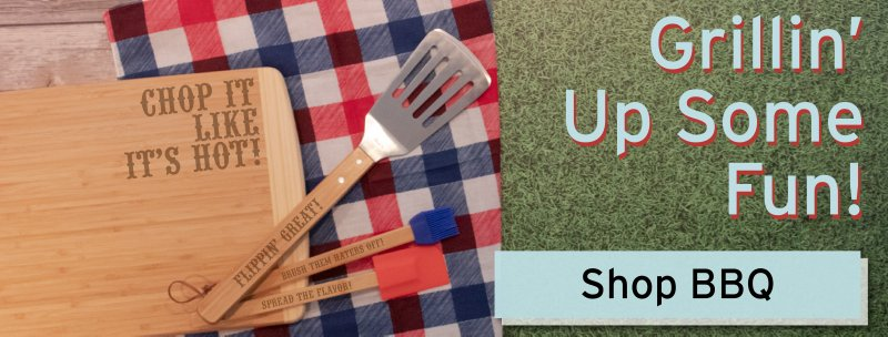 Customized Personalized Grill Tools